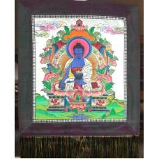 Piccola thangka - Buddha della Medicina