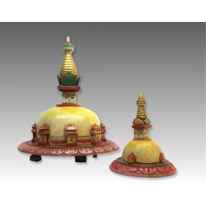 Stupa in legno