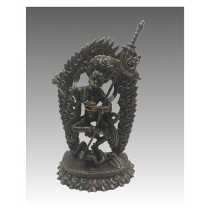 Siṃhamukha, statua