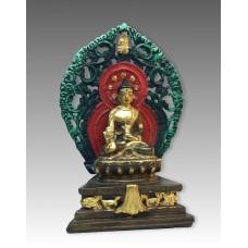Buddha della Medicina, statua in rame