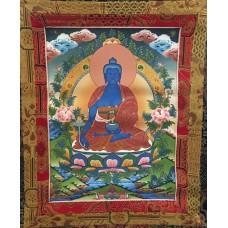 Buddha della Medicina, tangka