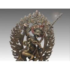 Siṃhamukha, copper statue