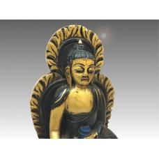 Buddha Śākyamuni, statua in legno