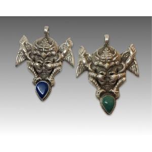 Garuda in argento