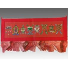 Arazzo con 8 simboli