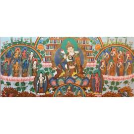 Guru Padmasambhava, albero del rifugio