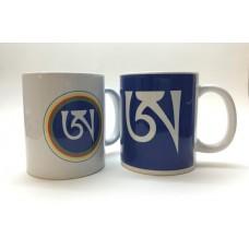 Tazza con A tibetana