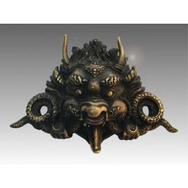 Chepu, protettore, in bronzo