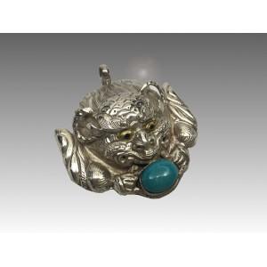 Chepu, protettore, in argento