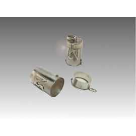 Gau cilindrico in argento