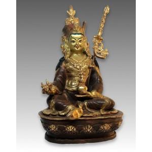 Padmasambhava, rame dorato