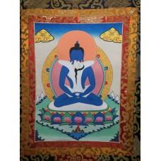 Samantabhadra, thangka