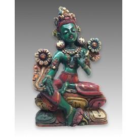 Tare Verde, statua in legno