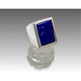 Anello in argento con lapislazuli