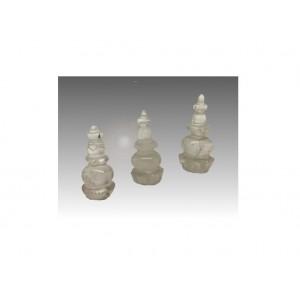Stupa in cristallo di rocca