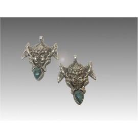 Garuda, argento e turchese