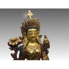 Tara Verde, statua in rame