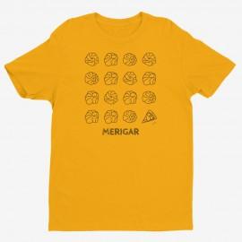 Maglietta momo e pizza