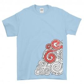 Maglietta con decoro tibetano dal Gonpa di Merigar