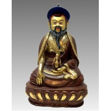 Shabdrung , statua in bronzo dorata