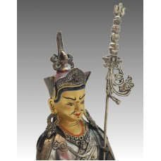Padmasambhava, statua argentata