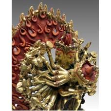 Kalachakra, statua dorata