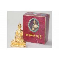 Buddha Śākyamuni, statua in lega di metallo