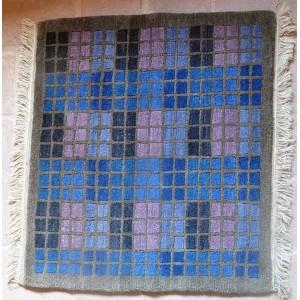 Tappeto da meditazione a quadri di vari clori