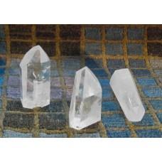 Punta lavorata di quarzo ialino 7-8 cm