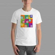 Maglietta con particolare del soffitto di Merigar